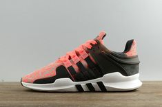 buy popular 3db52 48bf2 Chaussures de sport Adidas EQT Support ADV CG2950 Vapor Pink Core Black  Noir CG2950 Youth Big Boys Sneakers