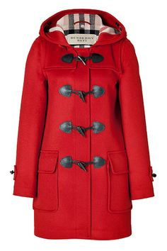 Burberry Brit Wool Minstead Duffle Coat. I am so incredibly in love with this coat.