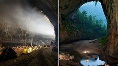"Hang Son Doong (""River Mountain Cave"") was the largest unexplored subterranean cave in the world, until now. The mysteries of this wondrous cave in Vietnam's Phong Nha-Ke Bàng National Park have been revealed by photographer"