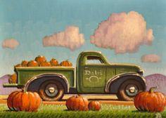Fall Pumpkins by Robert LaDuke