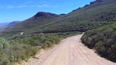 Kapteinskloof Pass Skurweberg    looking north from the neck at  Patat Draai