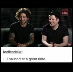 Their smiles are gorgeous.