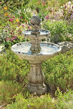 Solar Power Outdoor Water Fountains This Self Contained Water