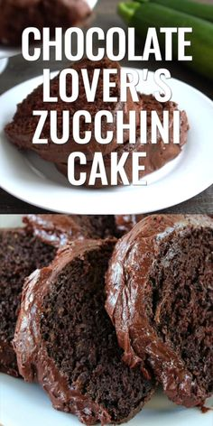 Chocolate Zucchini Brownies, Chocolate Cake Recipe Easy, Chocolate Frosting, Cake Chocolate, Chocolate Lovers, Dessert Cake Recipes, Easy Cake Recipes, Sweet Recipes, Dessert Bread