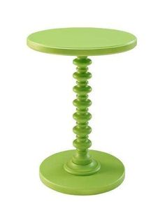 Classic Party Rentals, Phoebe Table - Lime Green