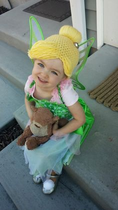 For Halloween this year Annie requested to be a cat again. When I shot down that idea she decided Tinkerbell would be a better option. ...