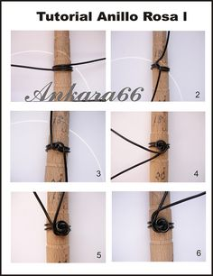 Part 1 of Wire Rose Ring Tutorial