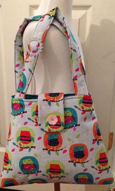 Adorable little girls purse by Iminstitches2 on Etsy, $19.99