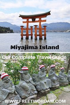 Miyajima is a picture-perfect side-trip from Hiroshima in Japan. Read our complete guide to the best things to do on this beautiful island. Travel in Asia. Japan Travel Tips, Asia Travel, Eastern Travel, Travel Vlog, Wanderlust Travel, Hiroshima, Kyoto, Safari, Miyajima