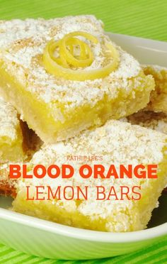 Kathie Lee welcomed Today Show food stylist Bianca Borges into the kitchen to prepare a Blood Orange variation on Lemon Bars from her 'Good Gifts' cookbook. http://www.recapo.com/today-show/kathie-lee-hoda/kathie-lee-hoda-recipes/kathie-lee-hoda-good-gifts-blood-orange-lemon-bars-recipe/