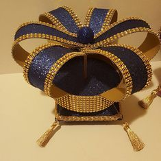 Crown and Box Centerpiece