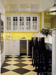 Yellow Tile Backsplash   Flickr - Photo Sharing!