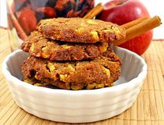 Low Carb Cookie Rezept | Apfel-Zimt-Cookies