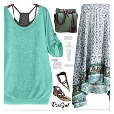 """""""Be in trend... with Rosegal! 26"""" by s-o-polyvore ❤ liked on Polyvore featuring GREEN, Fahion and rosegal"""