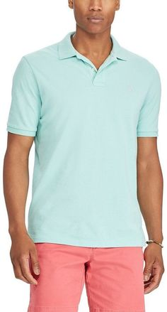 Polo Ralph Lauren Big & Tall Classic-Fit Weathered Mesh Short-Sleeve Polo Shirt