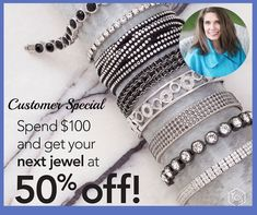 half off, customer sale, sale, customer special, special, fifty percent off, half price, touchstone crystal