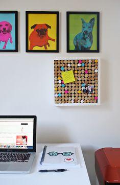 13 ideias diferentes de como usar rolhas na decoração da sua casa, estilo faça você mesmo.
