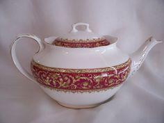 Large Royal Albert Tea Pot Florentine Pattern Very Nice | eBay