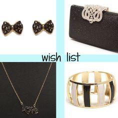 #wishlist #fashion #moda #brincos #clutch #pingente #love #bracelet #pulseira #black #strass #brilho #accesstotalblog.wordpress.com