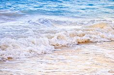 Ocean Photograph - Waves Breaking On Tropical Shore by Elena Elisseeva