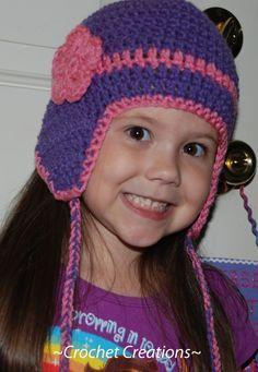 crochet bonnet hat hoodie - Google-søk