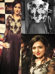 mansha pasha Lehenga Skirt, Saree, Beautiful Dresses, Nice Dresses, Kurti Styles, Stylish Outfits, Stylish Clothes, Pakistani Actress, Red Carpet Looks
