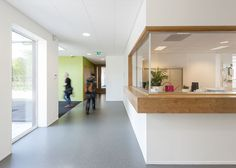 Renovation and extension of the Daaf Geluk School for children with learning disabilities in Haarlem, the Netherlands, by KoningEllis Architects.