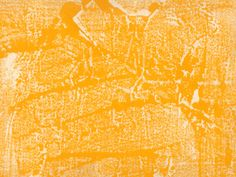 A paint print on unprimed canvas- golden yellow with flecks of green. Use as you wish.