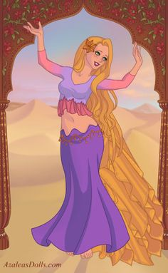Rapunzel by Maimie Mannering [©2014]