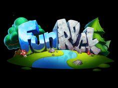 Preloader logo for FunRock media