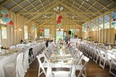 We should check this place out, it looks amazing! Athol Hall, Function Hall, Ceiling Draping, Wedding Reception Venues, Wedding Photos, Wedding Ideas, Table Settings, Backyard, Table Decorations