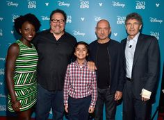Lupita Nyong'o Photos - 'Worlds, Galaxies, And Universes: Live Action At The Walt Disney Studios Presentation At Disney's D23 EXPO 2015 - Zimbio
