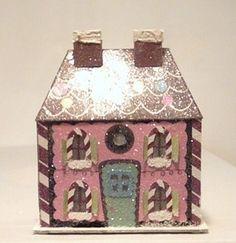 Paper gingerbread house.. Ebay