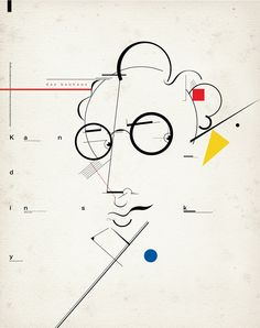 Kandinsky / Portrait on Behance