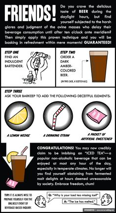 Tips & Tricks: How To Drink At Lunch