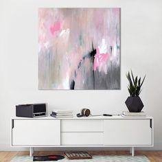 Large original art minimalist abstract painting von SarinaDiakosArt