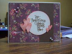 Sundaystamper  Papercrafts: Hearts and Flowers...