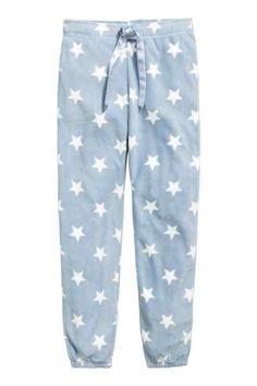 Pantalon de pyjama en polaire