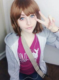 Max Caulfield cosplay - this girl is so pretty *-* - COSPLAY IS BAEEE!!! Tap the pin now to grab yourself some BAE Cosplay leggings and shirts! From super hero fitness leggings, super hero fitness shirts, and so much more that wil make you say YASSS!!!