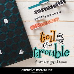 Creative Memories Toil & Trouble Halloween Collection!