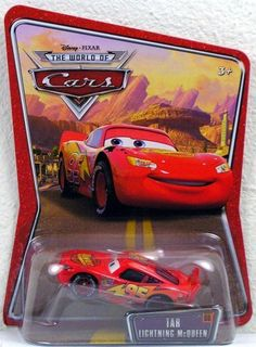 Disney Pixar Cars the World of Cars Tar Lightning Mcqueen #66 by Mattel. $9.99. Diecast. 1:55 Scale. 1:55 Scale diecast vehicle, not suitable children under 3 years old.