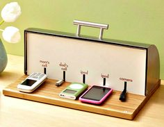 Organizing You and Your Family -- Central Charging Station