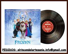 El Rincón de la Artesanía: Iman Frozen y Violeta