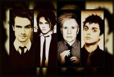 Brendon Urie, Gerard Way, Patrick Stump, and Billie Joe Armstrong