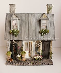 """A dash of Whimsy for your home!  Cottage and shabby chic styles mingle to create a truly romantic look! 100% handmade and original!  In a world full of mass production, hand made is the one true luxury."""" anonymous"""