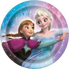 Disney Frozen Paper Cake Plates, 8ct, Plates - Amazon Canada