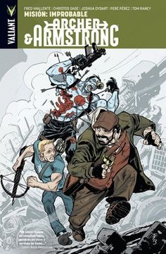 CATALONIA COMICS: ARCHER & ARMSTRONG 5 : MISION IMPROBABLE