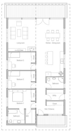 house design house-plan-ch400 10