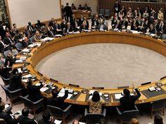 Какая пришла резолюция в совет безопасности ООН?