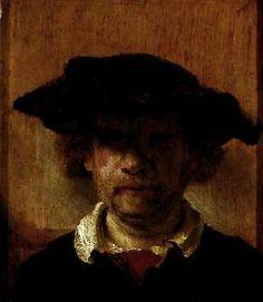 Rembrandt van Rijn - Selbstbildnis